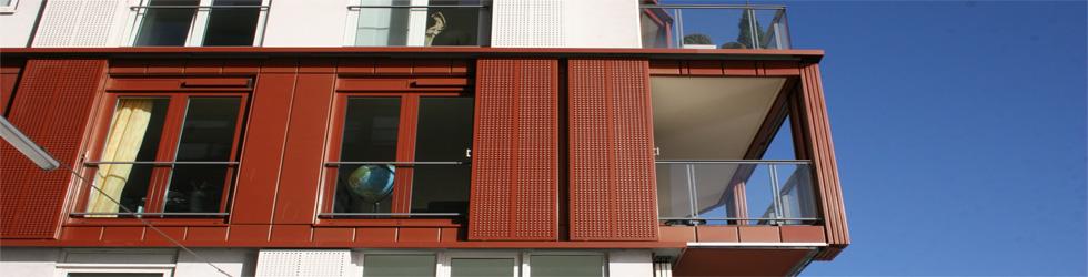 Konfigurator für Aluminium Schiebeläden